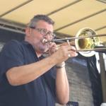 Paul Schütt an der Posaune bei JiG 2014