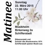 Matinee Bläserprojekt und Schüler des Musikvereins
