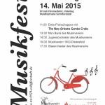 Musikfestplakat 2015
