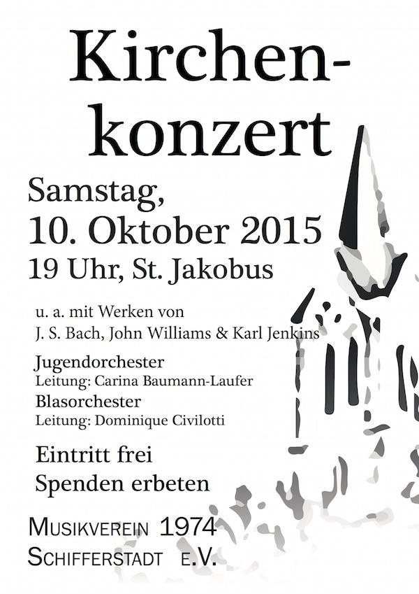 Plakat Kirchenkonzert