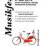 Musikfest am Donnerstag, den 05. Mai 2016