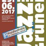 Plakat Jazz im Grünen 2017