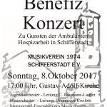 Benefizkonzert zu Gunsten der Ambulanten Hospizarbeit in Schifferstadt