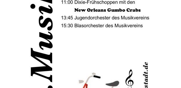 Musikfest an Christi Himmelfahrt 10. Mai