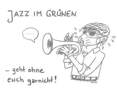 Jazz im Grünen 2021 geht ohne Euch gar nicht.