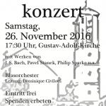 Kirchenkonzert am 26.11.2016