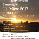 """Jahreskonzert """"Aufbruch"""" am 11.03.2017"""