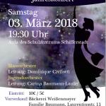"""Jahreskonzert """"Zeichentrickhelden"""" am 03.03.2018"""