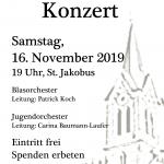 Kirchenkonzert am 16.11.2019